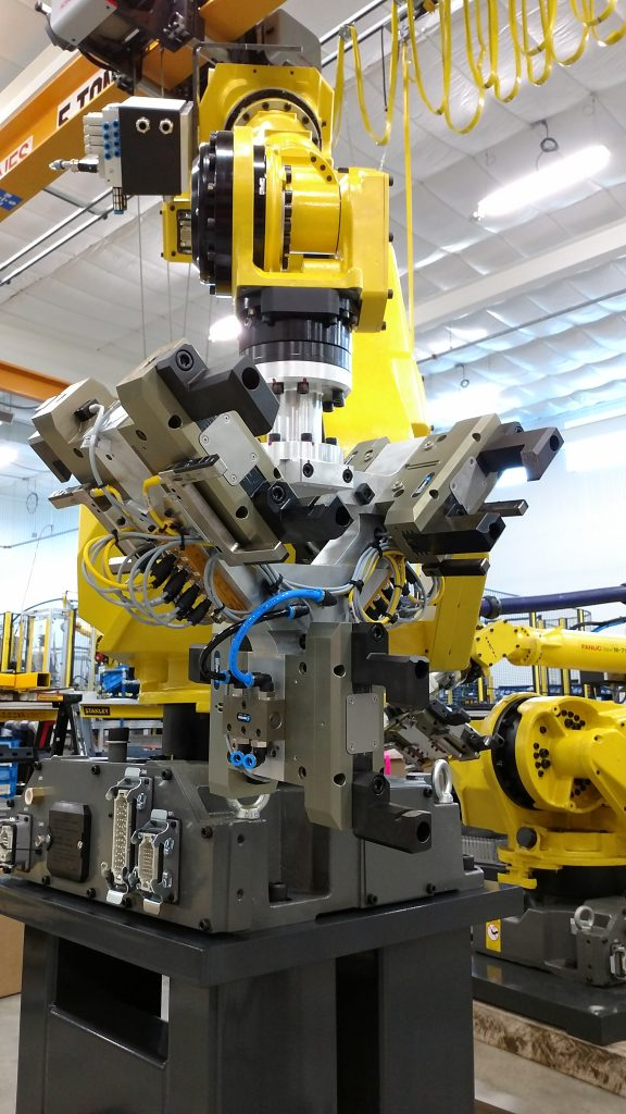 Robot End of Arm Tooling- High Speed Automation, Robot Integration, Machine Integration