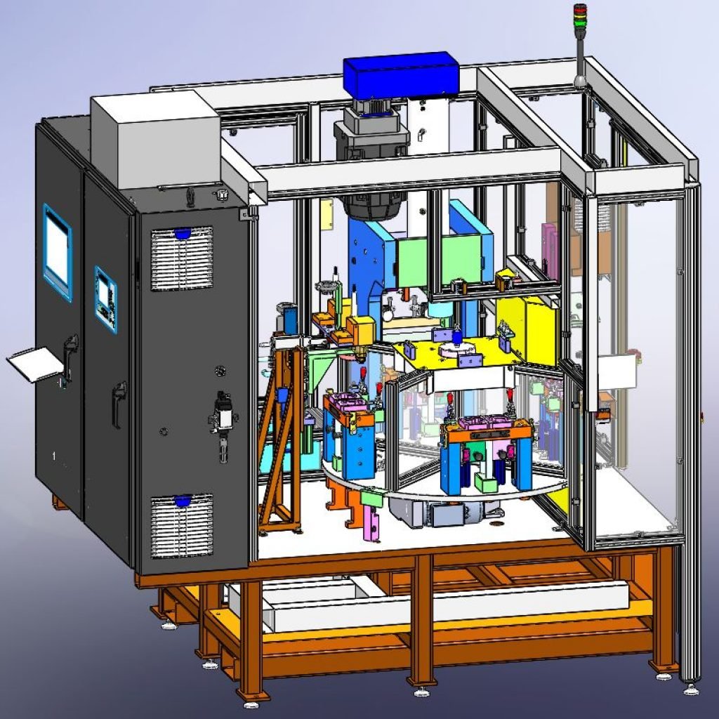 Assembly Machine Designed in SolidWorks ® – ESE LLC Engineering