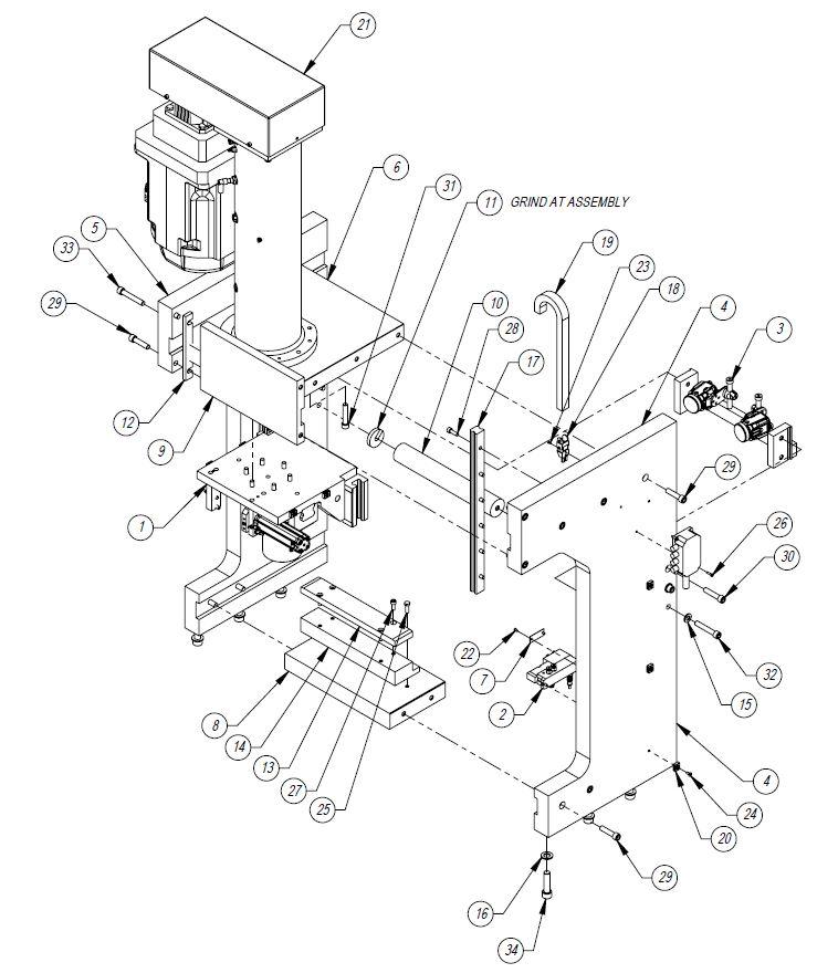 Industrial Control Panel Schematic Design