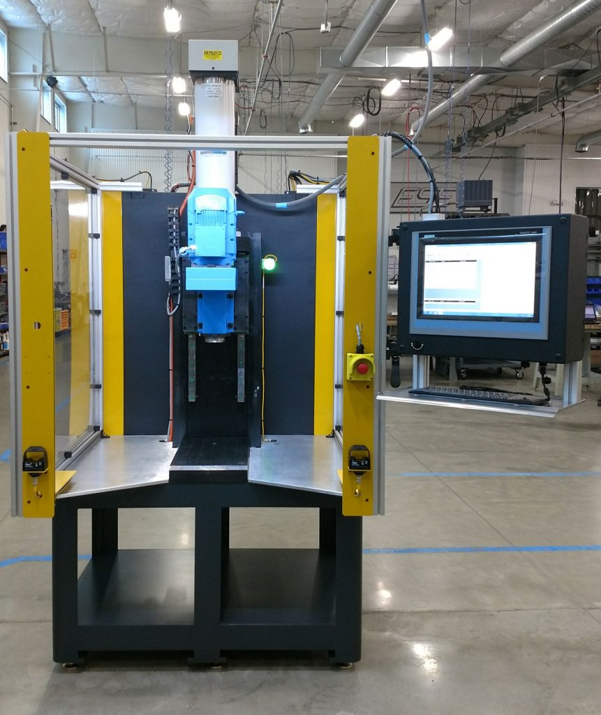 Special Machines - Programmable Electromechanical Press with Rollover Spindle