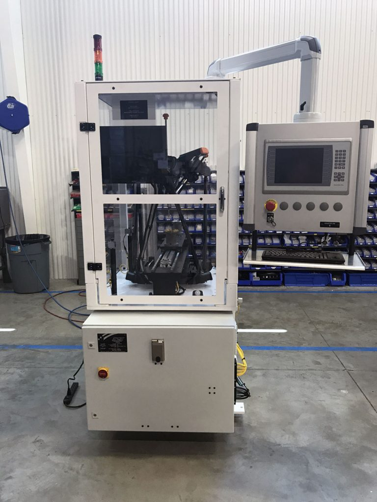 Sprocket CMM with auto load shuttle