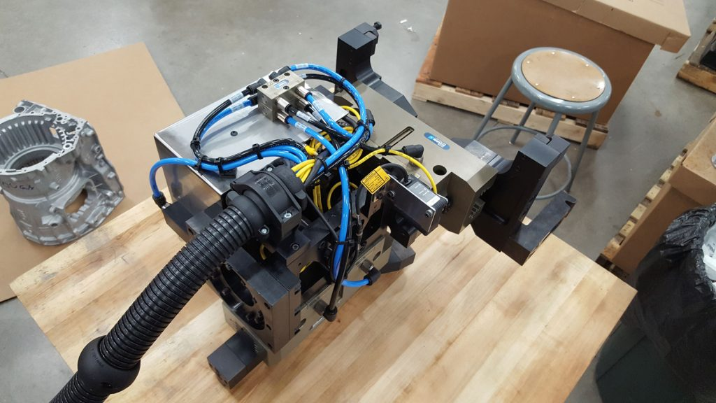 Transmission Case Robot End of Arm Tooling