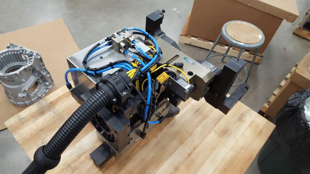 Transmission Case Robot End of Arm Tooling